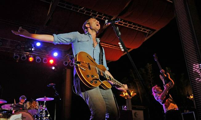 Frontman Jason Wade of Lifehouse at Epicurean Charitable Foundation's fundraiser M.E.N.U.S. at M Resort on Sept. 30, 2011.