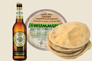 Low-brow beer pairings from hummus to Easy Cheese - Las Vegas Weekly