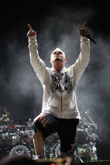 Ivan Moody of Five Finger Death Punch.