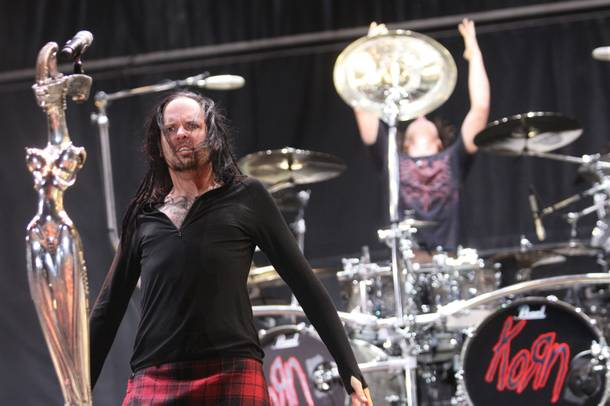 Korn was well-received at this year's 48 Hours Festival in Las Vegas.