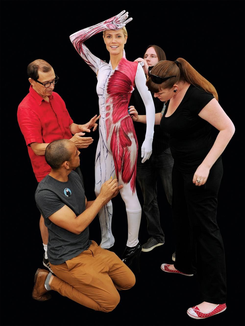 Heidi Klum's 2011 Halloween costume revealed! - Las Vegas Weekly