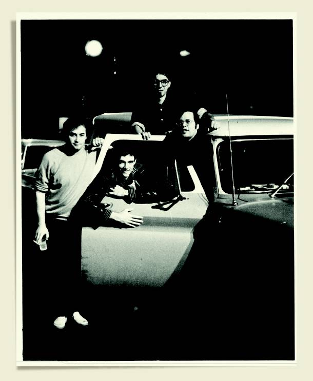 E.C. Gladstone took this photo back in 1986 on one of his first assignments. The Smithereens, and Pat DiNizio, were just getting started too.