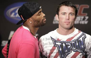 Nemeses: Anderson Silva and Chael Sonnen.