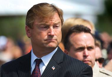 Rep. Shelley Berkley challenges Sen. Dean Heller (pictured) for his seat in 2012.