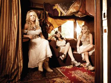 The Pistol Annies: Miranda Lambert, Angaleena Presley and Ashley Monroe