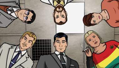 Archer is Josh Bell's No. 7 pick for best TV shows of 2011.