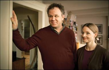 John C. Reilly and Jodie Foster are about to make things very, very, very ugly in Roman Polanski's 'Carnage'.
