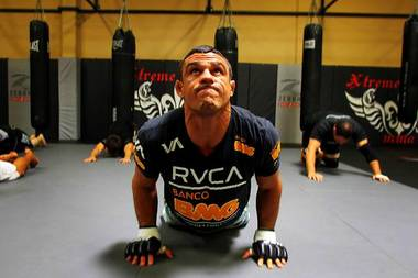 UFC fighter Vitor Belfort
