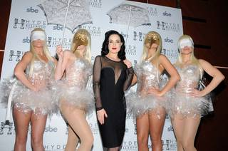 Dita Von Teese at Hyde Bellagio on Saturday, Jan. 14, 2012.