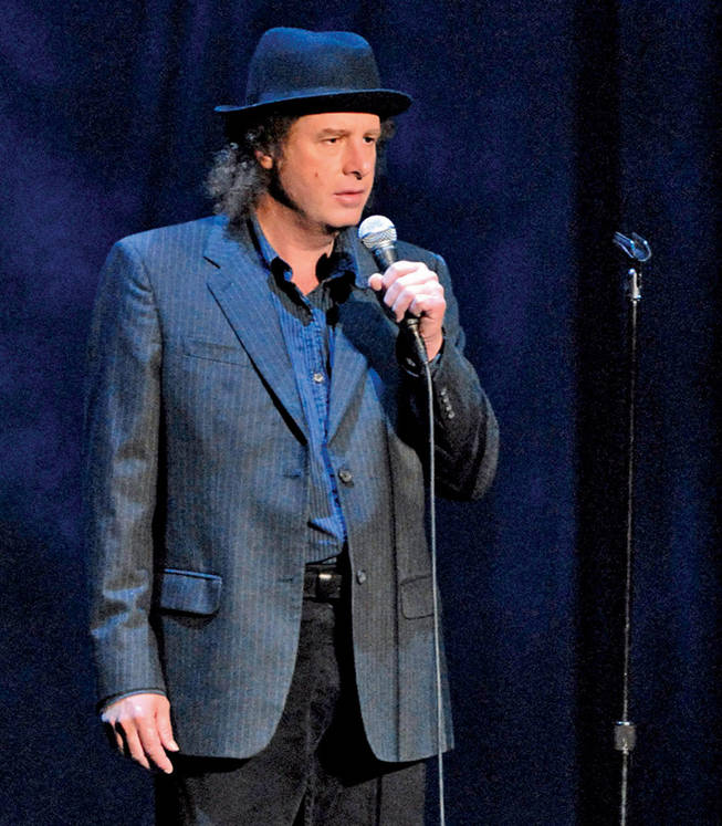 """What's another word for Thesaurus?"" Steven Wright brings his strange, wonderful observations to the Orleans this weekend."