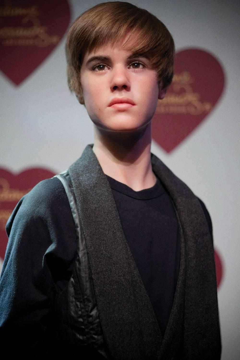 Basking In Wax Justin Bieber Las Vegas Weekly