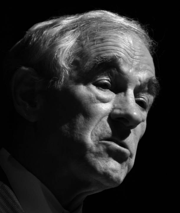 Ron Paul -- some pretty good ideas, but not in line with his party's views. It's not looking good.