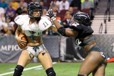 What women want? The Lingerie Bowl is cool, but do professional women take Las Vegas seriously?