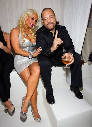 Ice-T and Coco create a poignant moment at Pure. And enforce it.