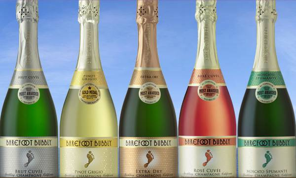 From Basic To Bubbly Go Barefoot With Wine Designed For