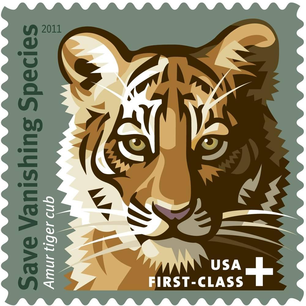 Siegfried & Roy unveil the Save Vanishing Species postage stamp at ...