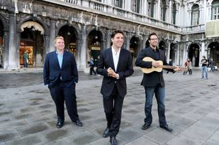 Strip headliner Frankie Moreno and his brothers travel to Europe in search of songwriting inspiration.