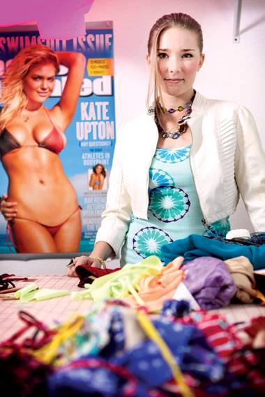 Kathleen Bruening's Suit Yourself Bikinis will soon be Kate Swimwear, with expansion into other apparel on the way.