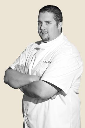 Anthony Meidenbauer oversees all the grub at Block 16 Hospitality restaurants.