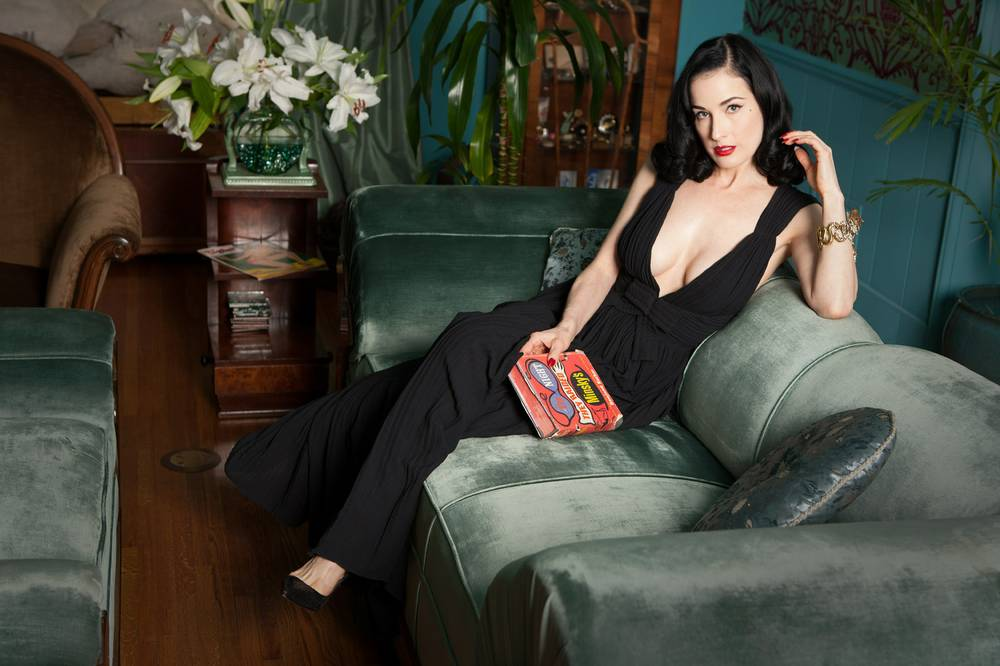 ddfe4e9f0cf5 Dita being Dita  At home with burlesque queen Dita Von Teese - Las ...