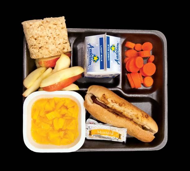 Photograph: School lunch - Las Vegas Weekly