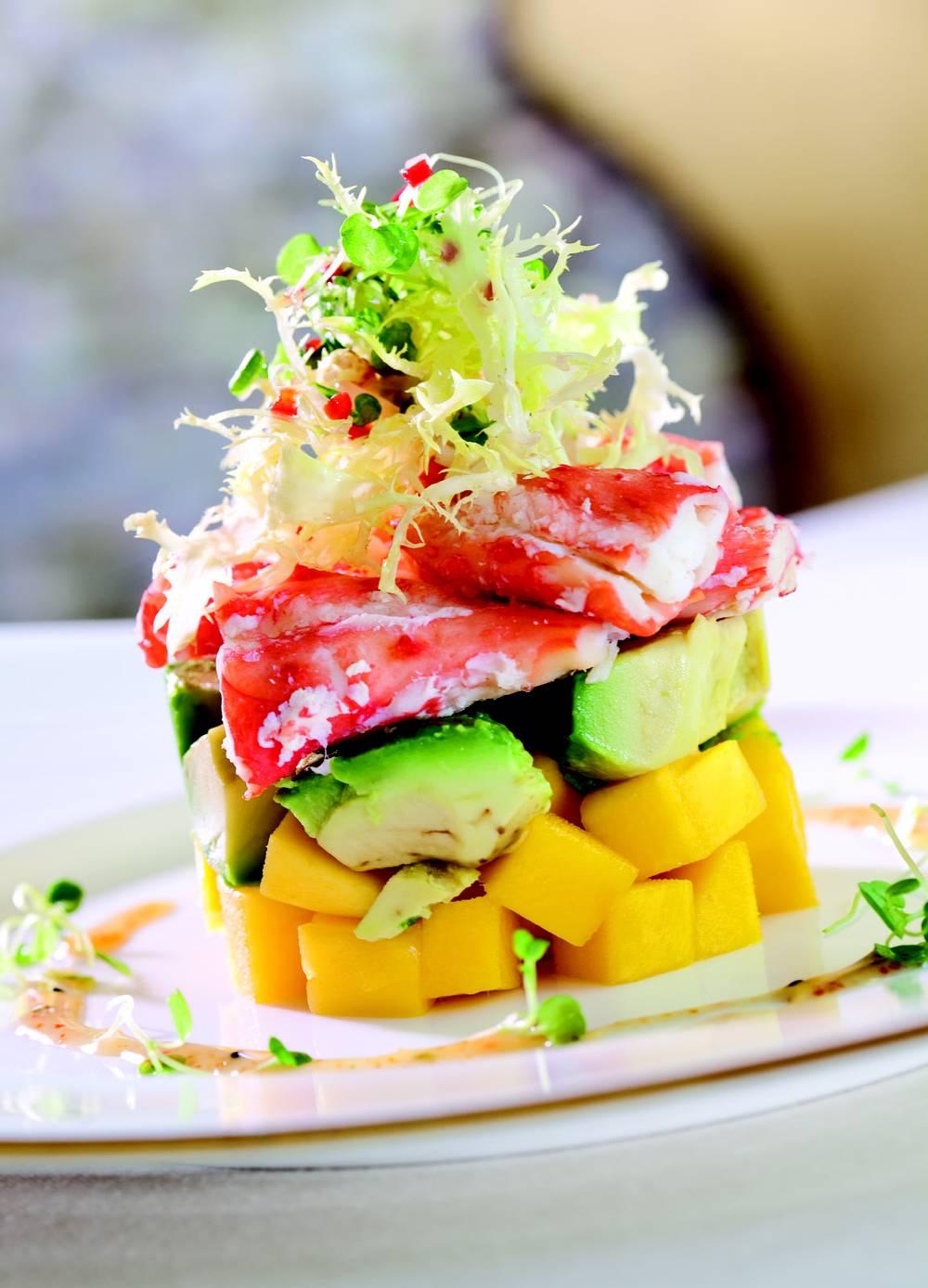 Put Wing Lei S Crab Salad On Your Own Menu Las Vegas Weekly