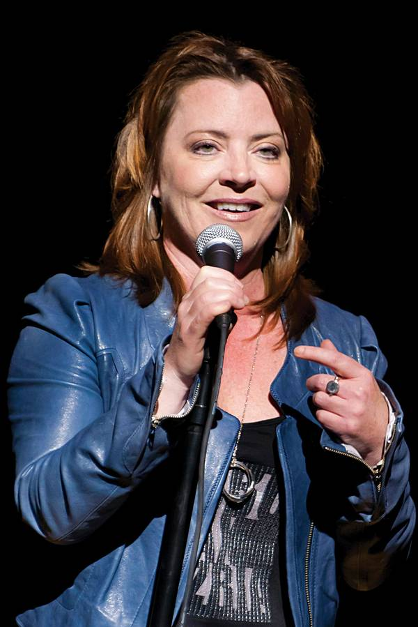 How many times has Kathleen Madigan been married?