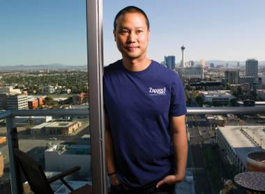 Man with a plan: Tony Hsieh wants to bring happiness Downtown.