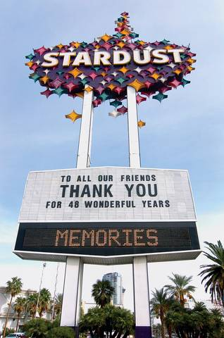 Stardust sign