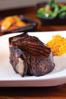 Though it's known for a hip, vibrant atmosphere, the Cosmopolitan's STK is just as beefy as its steakhouse brethren.
