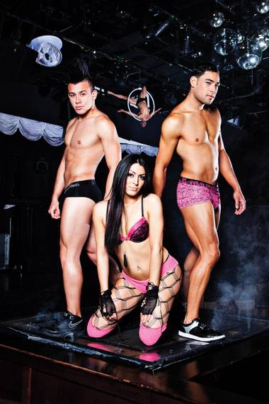 The Strip-side gay club's go-gos don't just dance, they perform.