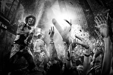 LMFAO's DJ Redfoo brings his signature style to the Cosmo club each month.