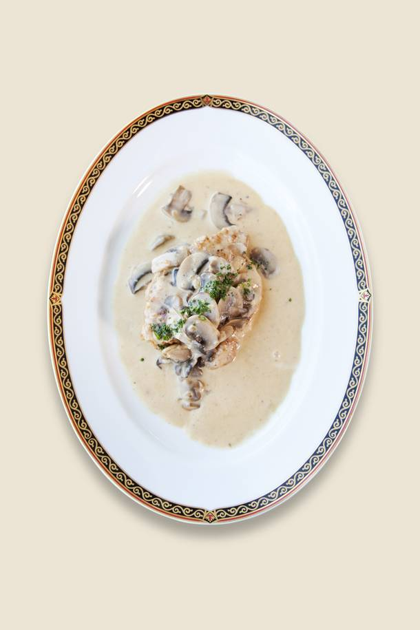 This creamy, savory classic was a favorite at the former Downtown Andre's restaurant.