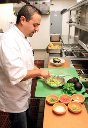 T&T's Saul Ortiz delivers his native cuisine to your table.