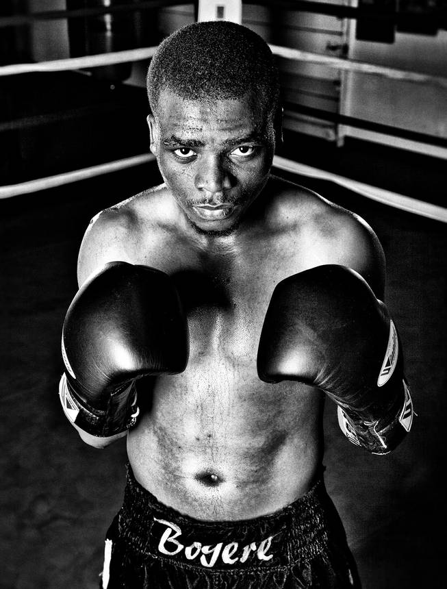 Ready to roar: Sharif Bogere could have a shot at a major belt soon.