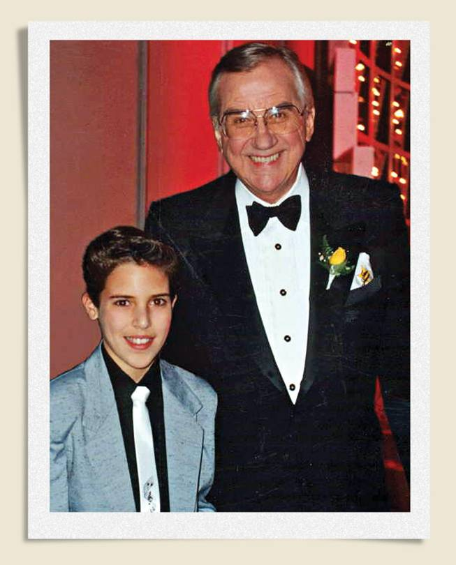 Frankie Moreno and Ed McMahon shown during Moreno's 1986 appearance on Star Search, when Moreno was just 10 years old.