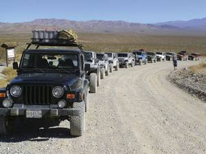 Never off-road alone—especially when there are so many Jeep-owners who want to hit the trail with you.