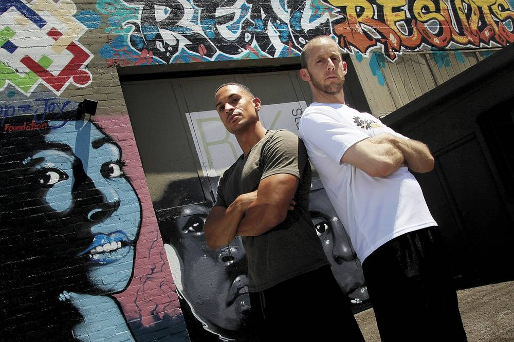 Sledgehammers and sweat at the Arts District's first gym - Las Vegas