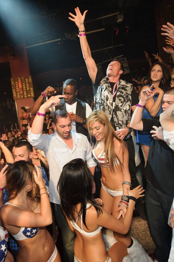 Lochte being Lochte at Tao.