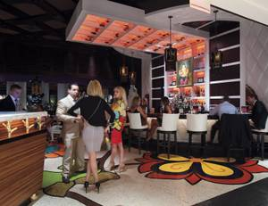 A view of Botero during its new supper club concept.