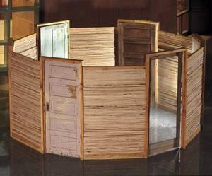 "Troy Gillett's <em>Inner Sanctum</em> in 2012 at the Clark County Government Center.""/>    </p>  <p class="