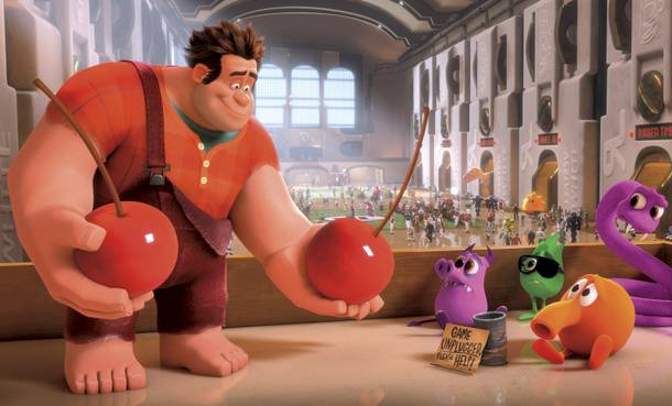 Wreck-It Ralph, a movie for the video game lover in all of us.