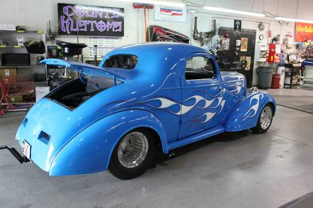 A 1935 Chevy Master Coupe featured on History Channel's Counting Cars