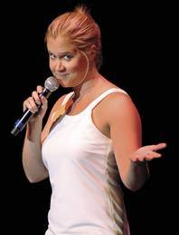 Amy Schumer takes the stage at the Riv September 28-30.