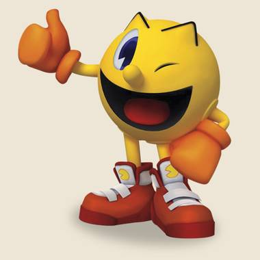 Pac Man gives Hi Scores a thumbs up.