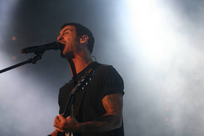 Godsmack at Rock Vegas night one, Sept. 28, 2012.