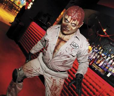 Fear and … fear in Las Vegas: The Goretorium promises an unsettling experience.