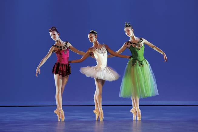 Balanchine's <em>Jewels</em> displays three styles of dance with costuming to match.