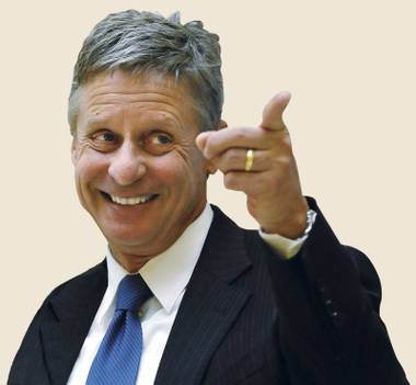 Could Gary Johnson spoil the election?
