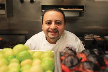 Chef Saul Ortiz is all about the spicy, whether it's ghost peppers or Thai dishes.